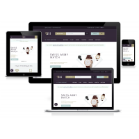 Интернет-магазин на основе шаблона Luxury