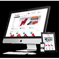 Интернет-магазин на основе шаблона NewStore