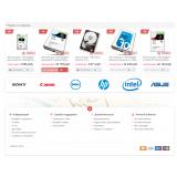 СОЮЗ компьютерный магазин из категории Наши проекты для CMS OpenCart (ОпенКарт) фото 1