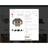 Интернет-магазин на основе шаблона Royal 2.x из категории Готовые магазины для CMS OpenCart (ОпенКарт) фото 7