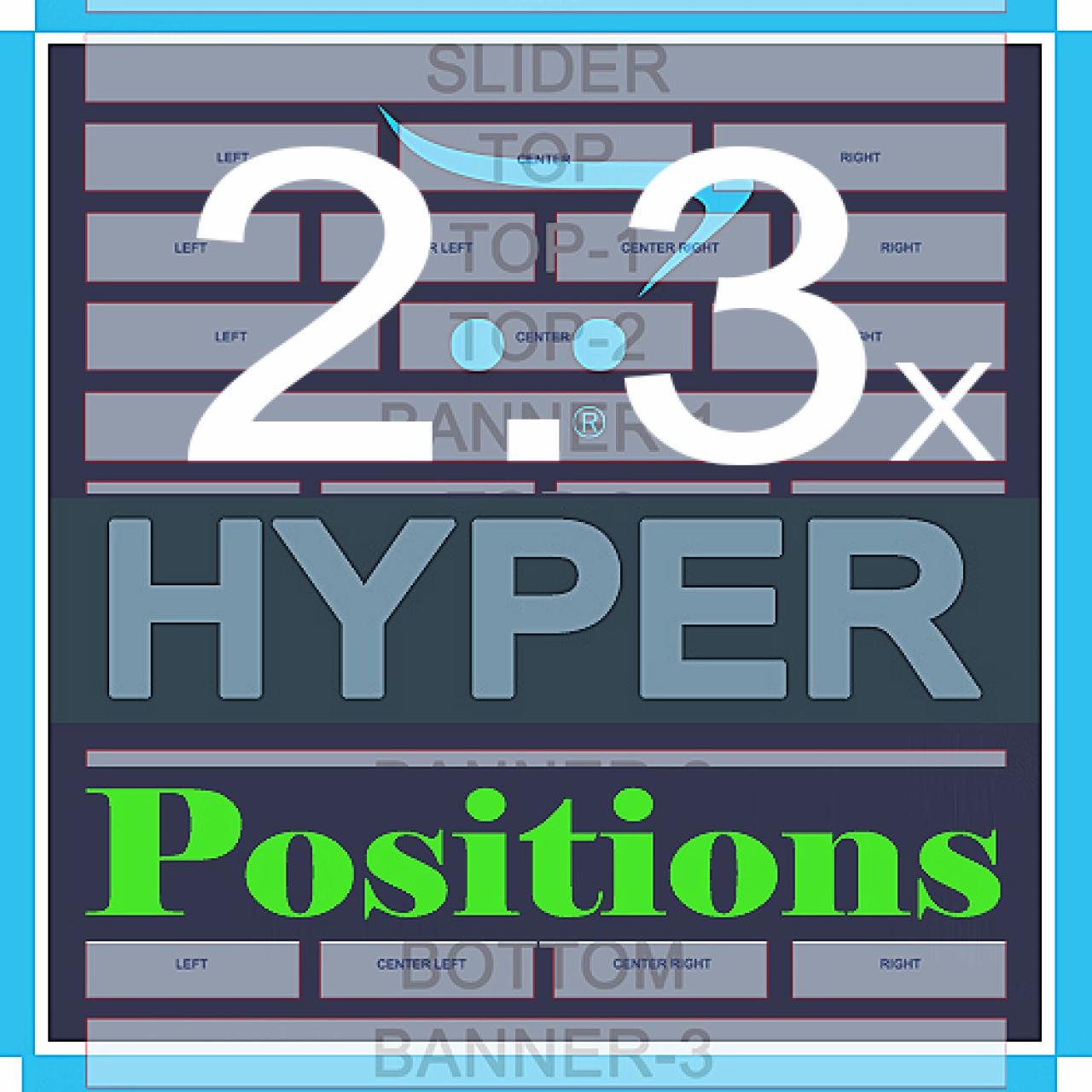 HYPER Positions +70 позиций модулей из категории Оформление для CMS OpenCart (ОпенКарт)