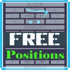FREE Positions | Дополнительные позиции