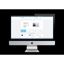 Интернет-магазин на основе шаблона TechStore