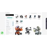 BabyWalker.ru - детский интернет-магазин из категории Наши проекты для CMS OpenCart (ОпенКарт) фото 2