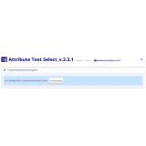 Attribute Text Select из категории Атрибуты для CMS OpenCart (ОпенКарт) фото 4