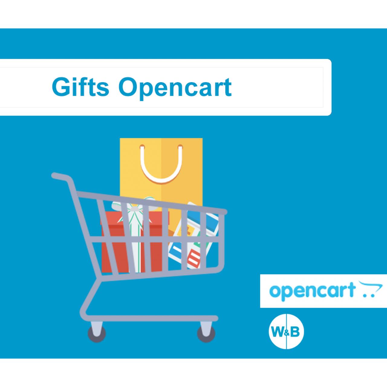 Подарки Opencart из категории Цены, скидки, акции для CMS OpenCart (ОпенКарт)