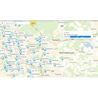 Заказы на яндекс карте