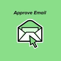 Approve Email - подтверждение почты после регистрации