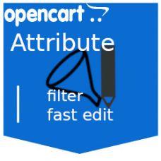 Admin Attribute Filter