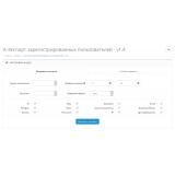 Экспорт зарегистрированных пользователей 1.4 из категории Обмен данными для CMS OpenCart (ОпенКарт) фото 1