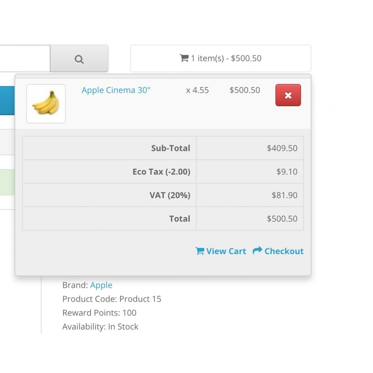 Дробное количество товаров  3x из категории Цены, скидки, акции для CMS OpenCart (ОпенКарт)