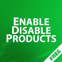 EnableDisable Products - групповое включение / отключение товаров