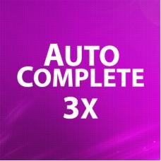 Autocomplete 3x - улучшенный поиск товаров в админке