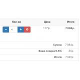 [OC2] Скидка от общей суммы заказа из категории Цены, скидки, акции для CMS OpenCart (ОпенКарт) фото 5