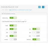 ExtendedSearch - расширенный поиск в магазине из категории Поиск для CMS OpenCart (ОпенКарт) фото 1