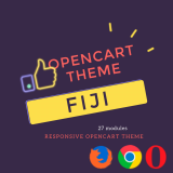 Акция!! Fiji - многомодульный шаблон 5в1 (pageSpeed 96\100) 2.2 из категории Шаблоны для CMS OpenCart (ОпенКарт)