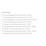 Opencart: Модуль доставки Почта России и EMS из категории Доставка для CMS OpenCart (ОпенКарт) фото 1