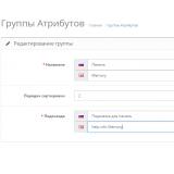 Подсказки для атрибутов и группы атрибутов из категории Атрибуты для CMS OpenCart (ОпенКарт) фото 1