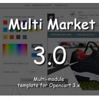 Multi Market 3.0 Filter - многомодульный с фильтром адаптивный шаблон 3.0 NEW template