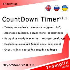TS CountDown Timer
