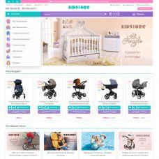 Шаблон детских товаров Kidstore