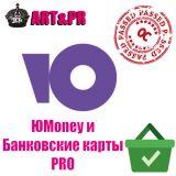 ЮMoney и Банковские карты PRO (для физических лиц) из категории Оплата для CMS OpenCart (ОпенКарт)