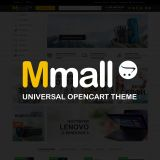 Mmall - универсальный адаптивный шаблон из категории Шаблоны для CMS OpenCart (ОпенКарт)