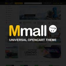 Mmall - универсальный адаптивный шаблон