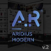 Адаптивный, многомодульный шаблон Aridius Modern v2