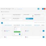 Attribute Manager - управление атрибутами / характеристиками из категории Админка для CMS OpenCart (ОпенКарт) фото 3
