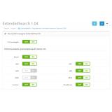 ExtendedSearch - расширенный поиск в магазине из категории Поиск для CMS OpenCart (ОпенКарт) фото 2