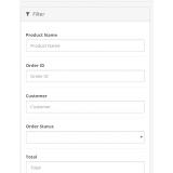 Заказы: Колонки почта, телефон. Фильтр по товару из категории Админка для CMS OpenCart (ОпенКарт) фото 2