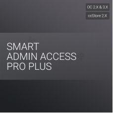 Ограничение доступа в админку PRO+